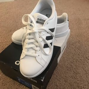 Adidas Cloudfoam Advantage Leather Sneaker